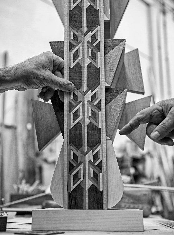 Eight. Fedeli Restauri, inlaid wood (making of)photo by Emanuele Zamponi, Courtesy of Vacheron Constantin