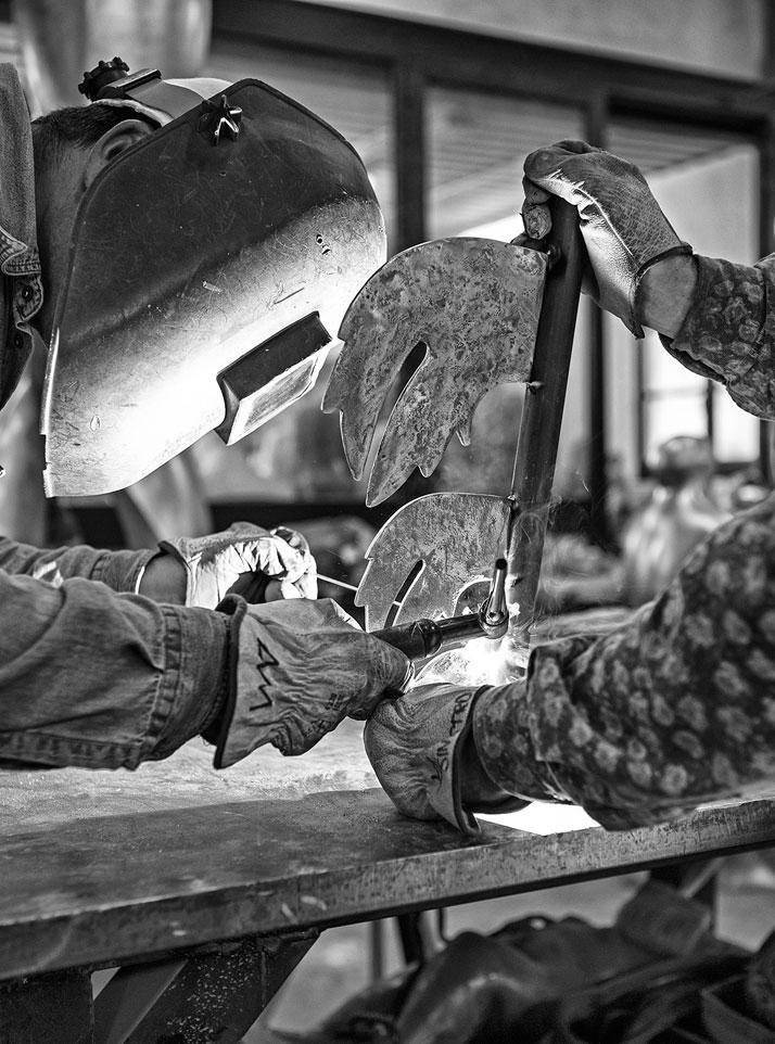 Seven. Gori Lab, bronze (making of)photo by Emanuele Zamponi, Courtesy of Vacheron Constantin