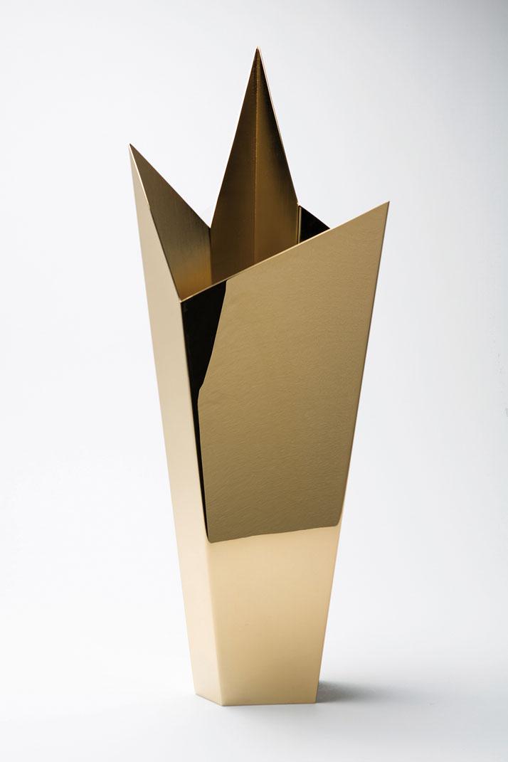 Nine. Cleto Munari, gold-plated brassphoto by Emanuele Zamponi, Courtesy of Vacheron Constantin