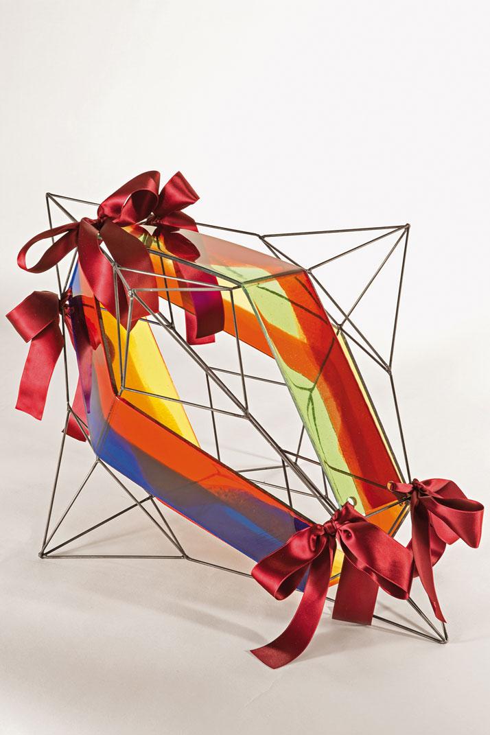 Eleven. Carlo Poggio Design, resin and ironphoto by Emanuele Zamponi, Courtesy of Vacheron Constantin
