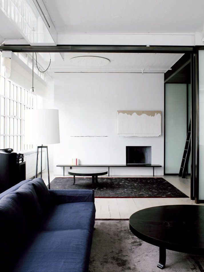 Facing north with gracia new york loft for Architecture interior design new york