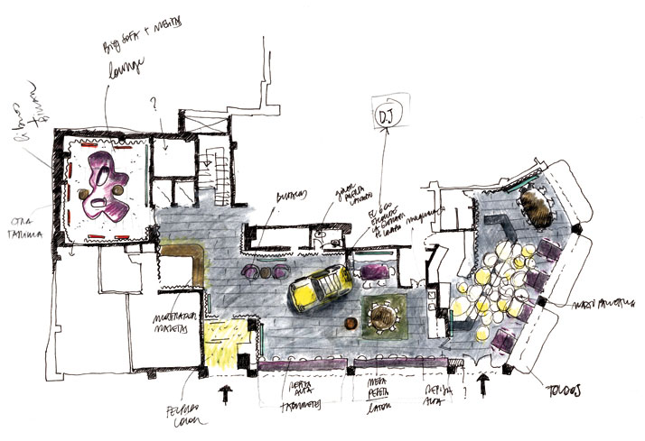 floor plan © Lagranja Design