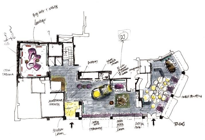 Chic basic ramblas hotel by lagranja design in barcelona - Lagranja design ...