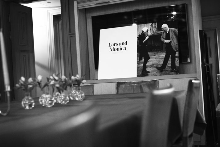 During 'The Story Of BOLON' book pre-launch event in Hotel Ett Hem, Stockholm, photo © BOLON
