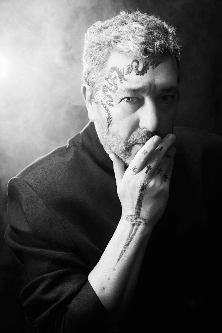 Philippe Starck, photo ©  Sophie Delaporte