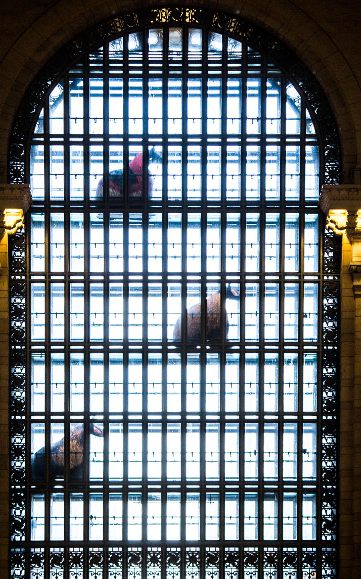 Photograph by Travis Magee, Courtesy Creative Time and MTA Arts for Transit