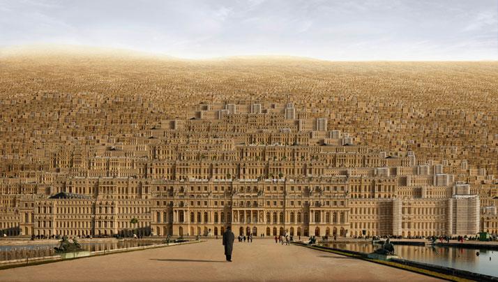 Versailles, 2009, C-Print, 180 x 300 cm, photo credit Jean-François Rauzier
