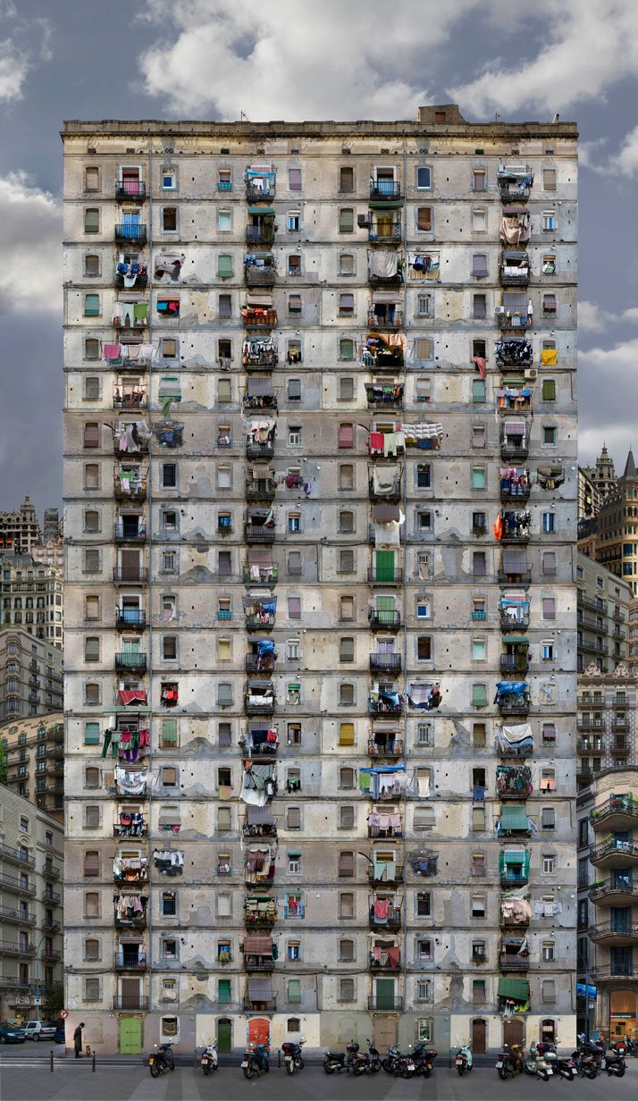 Babel 12, 2008, C-Print, 100 x 170 cm, photo credit Jean-François Rauzier