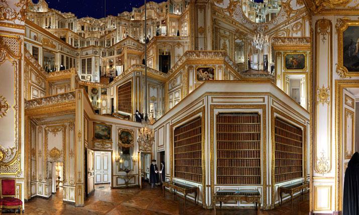 Cabinet des dépêches, 2011, C-Print, 180 x 300 cm, photo credit Jean-François Rauzier