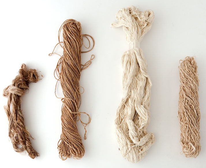 Nettle, jute, silk and afghan wool, photo © Nanimarquina
