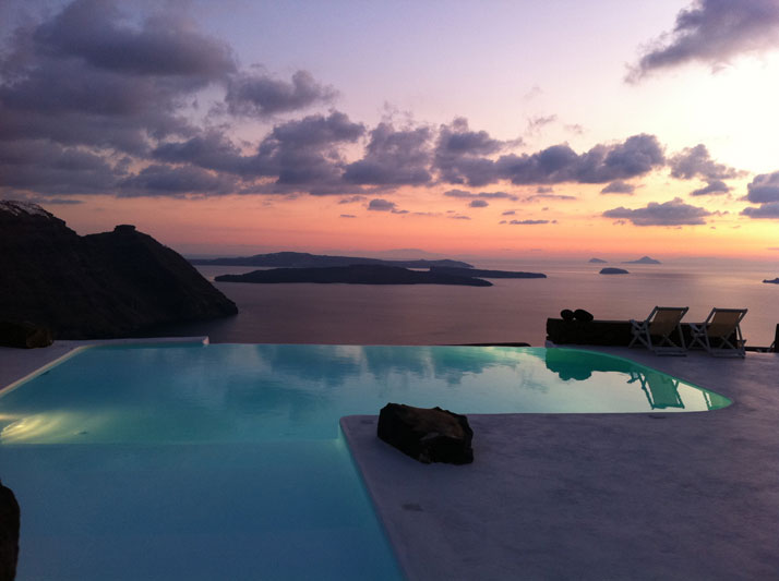 photo © Aenaon Villas, Santorini, Greece