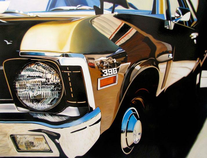 "396, 2009, oil on aluminum panel, 36 x 48"" © Cheryl Kelley, Courtesy of Bernarducci Meisel Gallery"