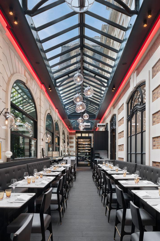 Café Artcurial, design Agence Charles Zana, photo by Jacques Pépion, Courtesy of Café Artcurial