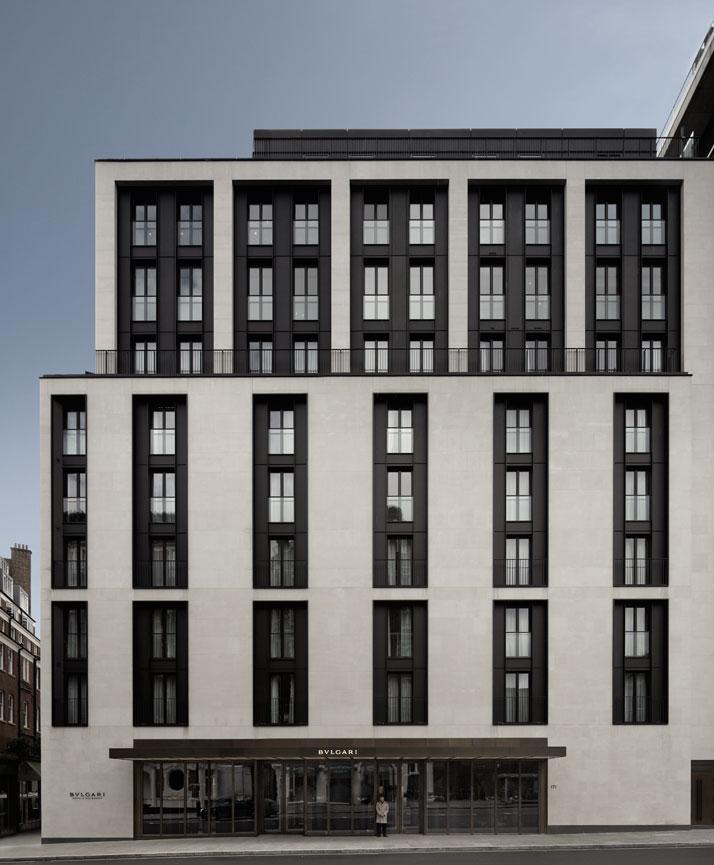 BVLGARI Hotel & Residences, London, photo © BVLGARI Hotels & Resorts