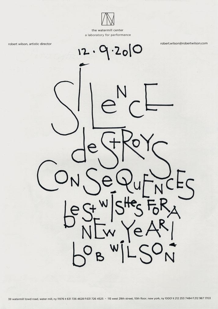 VITTORIO SANTOROLetters To People (Silence Destroys Consequences), 2010-2011 Marqueur sur lettre et enveloppe / Marker on letter sheet and envelope Env : 25.3 x 33 cm Lett : 28.7 x 21 cm Courtesy de l'artiste, Galerie Jérôme Poggi, Paris et Galerie Campagne Première, Berlin © Vittorio Santoro