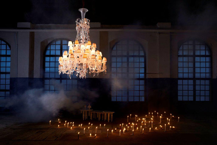 Nervous Zenith by Louise Campbell, photo by Yves Duronsoy, Courtesy of Baccarat Highlights.