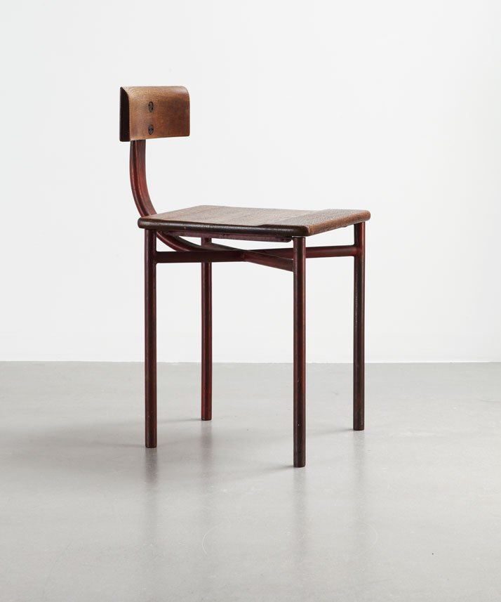 U0027CiteÌ U0027 Chair, 1932Steel Tube And Solid WoodCollection Laurence And  Patrick Seguin © Galerie. U0027