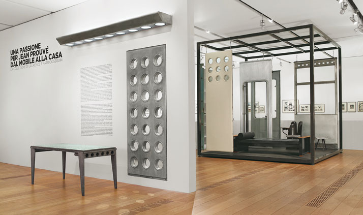 A Passion For Jean Prouvé, Installation viewphoto Courtesy of Galerie Patrick Seguin