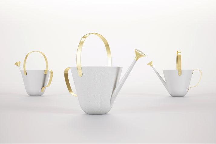 Gardenia watering can, 3D rendering © Jaime Hayon & BD Barcelona Design