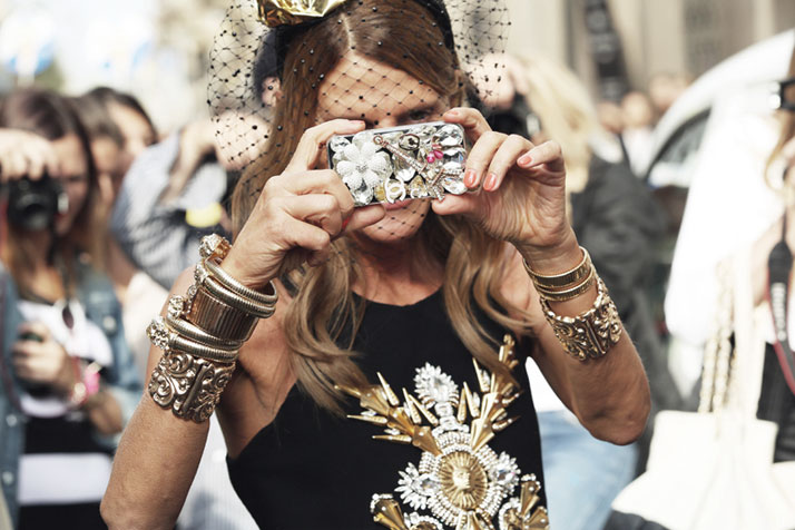 Anna dello Russo, photo © Streetfsn by Nam.