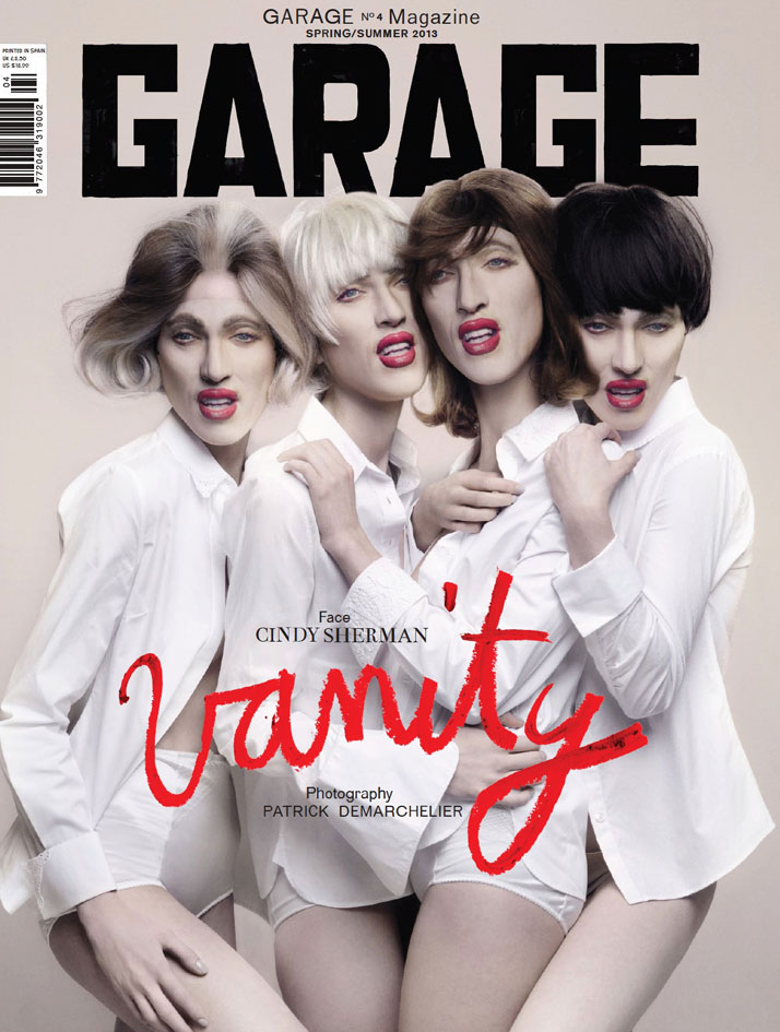 GARAGE Magazine Issue 4 'Vanity' Featuring Cindy Sherman Shot By Patrick Demarchelier, photo © GARAGE Magazine