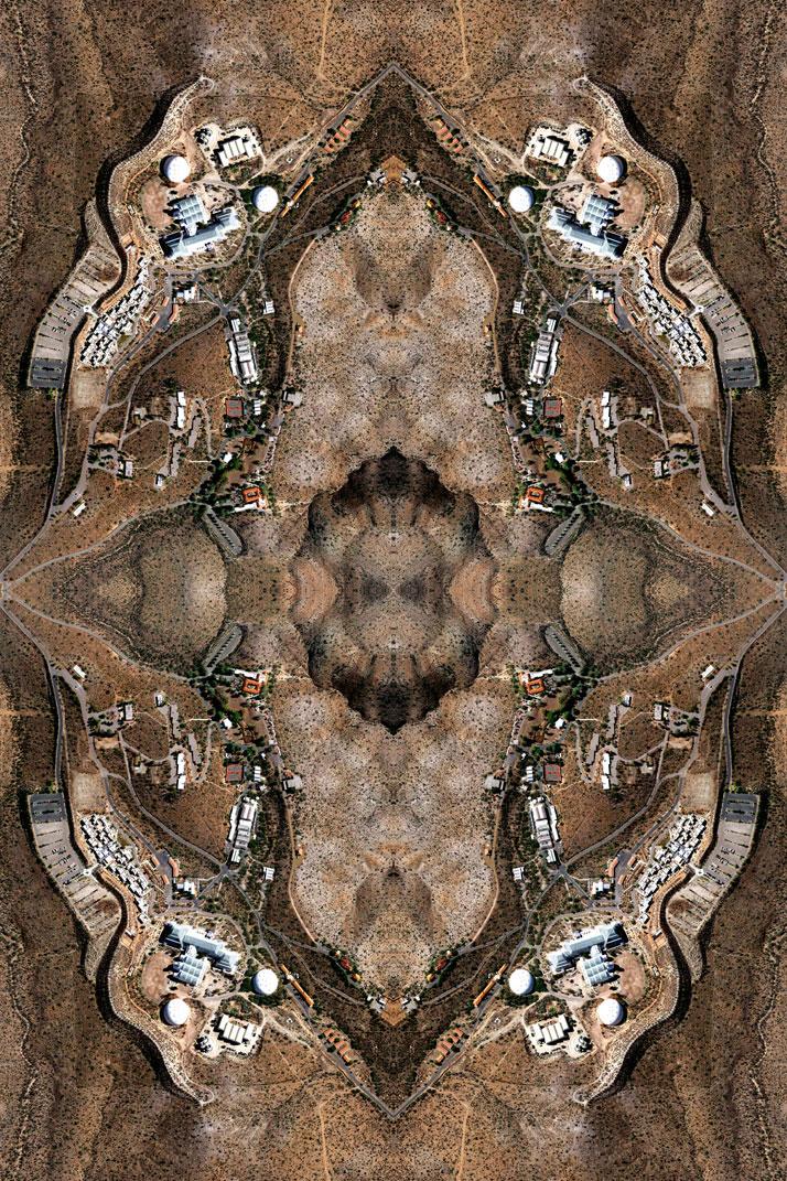 BIOSPHERE 2, ORACLE, ARIZONA, UNITED STATES OF AMERICA 2010-11Copyright David Thomas Smith