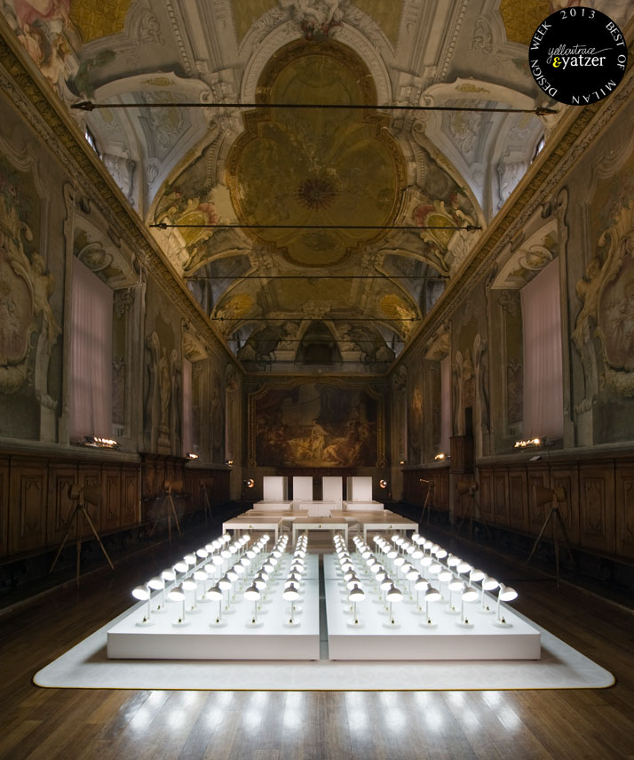 Grand Furniture.Com Scenography by Studio Job for Lensvelt inside the 18th century Sala ...