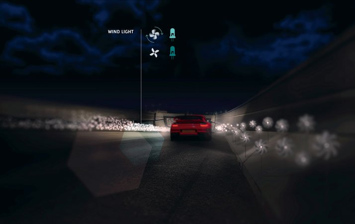 SMART HIGHWAY by Daan Roosegaarde and Heijmans. Photo © Studio Roosegaarde.
