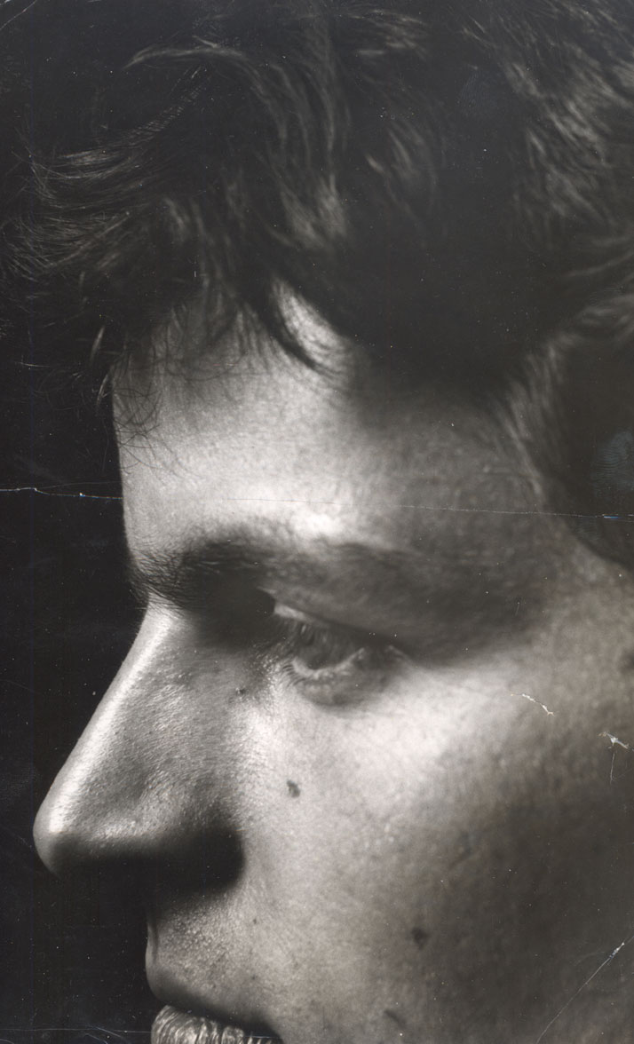 photo credit: Portrait of Guy Bourdin by Donald Silverstein, circa 1960, Tirage d'origine, archives Guy Bourdin.