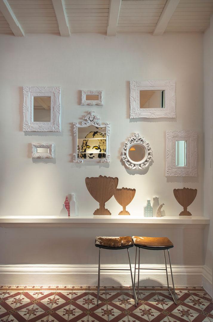Living Room, photo © Macalister Mansion, Design Hotels.