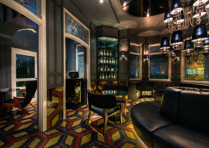 The Den, photo © Macalister Mansion, Design Hotels.
