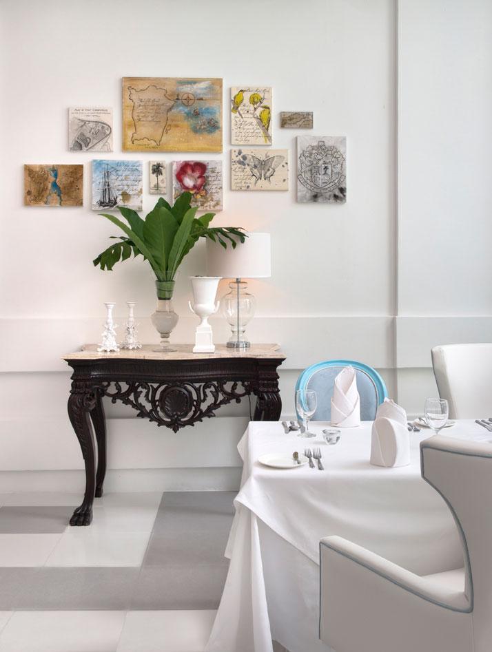 Dining Room, photo © Macalister Mansion, Design Hotels.