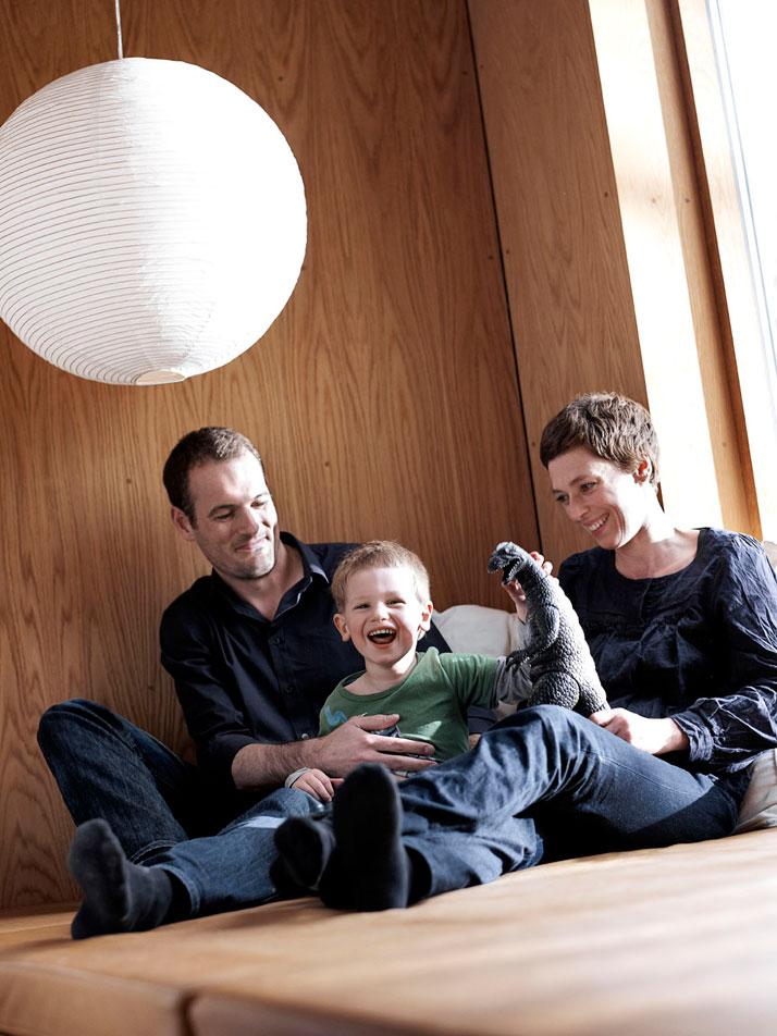 The Wienberg family, Photo© MIkkel Rahr Mortensen, styling by Gitte Kjaer.