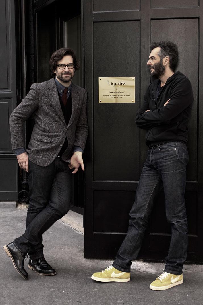 David Frossard and Philippe Di Méo, photo © Liquides, Paris.