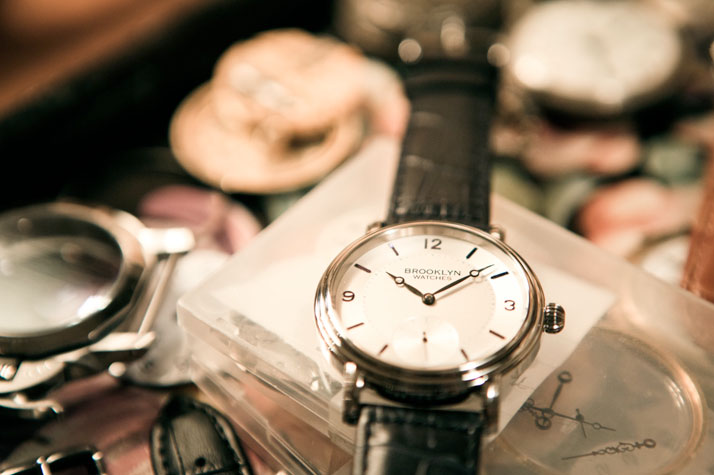 MADE IN BROOKLYN: David Sokosh: The Watchmaker, photo © Dustin Cohen.