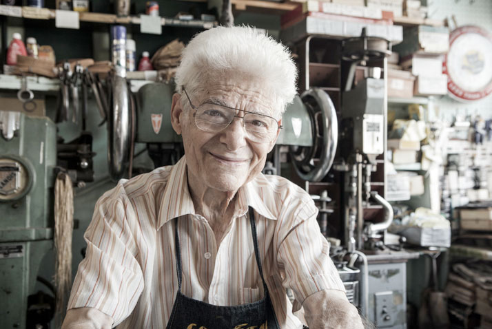 MADE IN BROOKLYN: Frank Catalfumo: The Shoemaker, photo © Dustin Cohen.