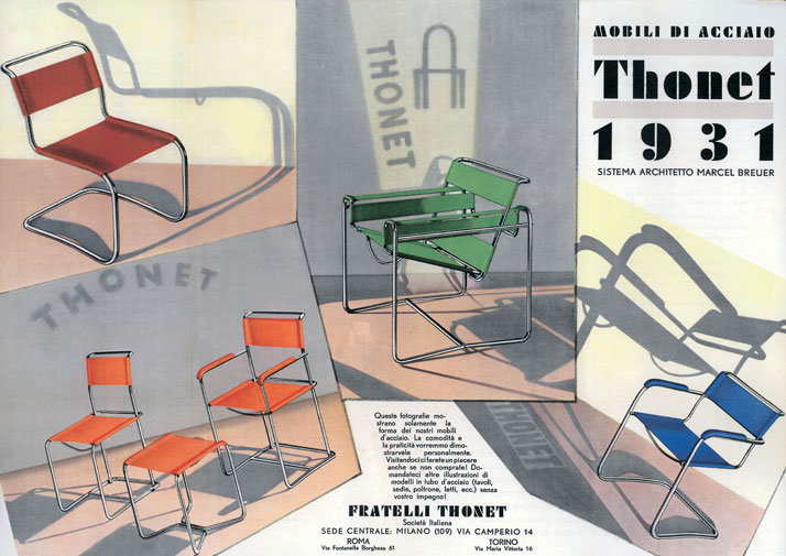 Thonet poster,1934.© Vitra Design Museum archives, Weil am Rhein.