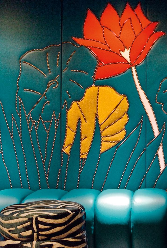 Cinema 'Paradisio' below Café Germain by India Mahdavi. Photo © Jean-Françcois Jaussaud/Lux Productions.