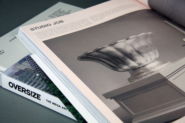 Picture of the Silver Ware project by Studio Job as featured inside the OVERS!ZE book © Viction:ary.