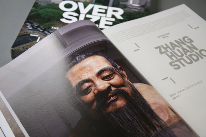 Q Confucius No.2 by Zhang Huan Studio. Photo © Viction:ary.Picture of the project featured inside the OVERS!ZE book © Viction:ary.