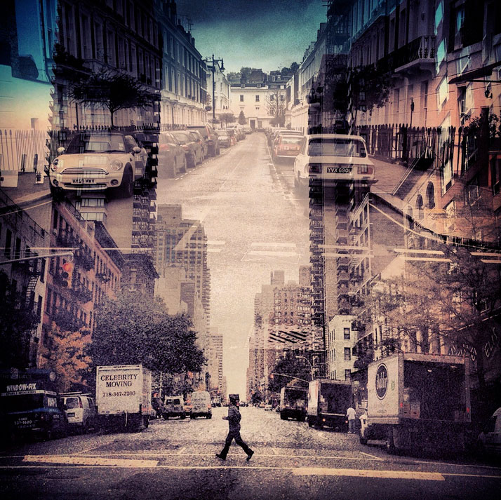 New York + London: A Collection Of Double Exposures By Daniella Zalcman 3