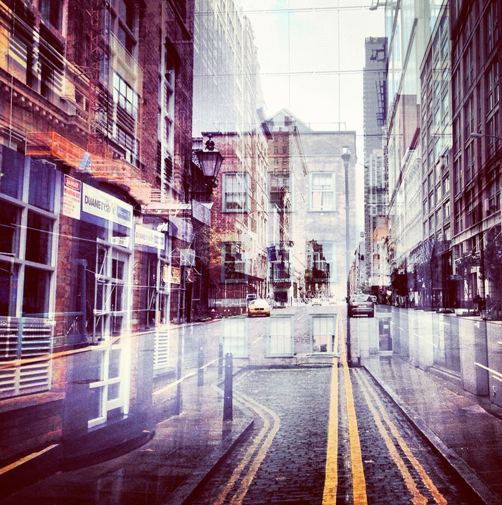 New York + London: A Collection Of Double Exposures By Daniella Zalcman 4