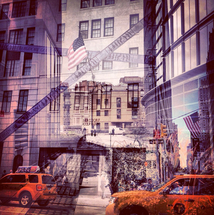 New York + London: A Collection Of Double Exposures By Daniella Zalcman 6