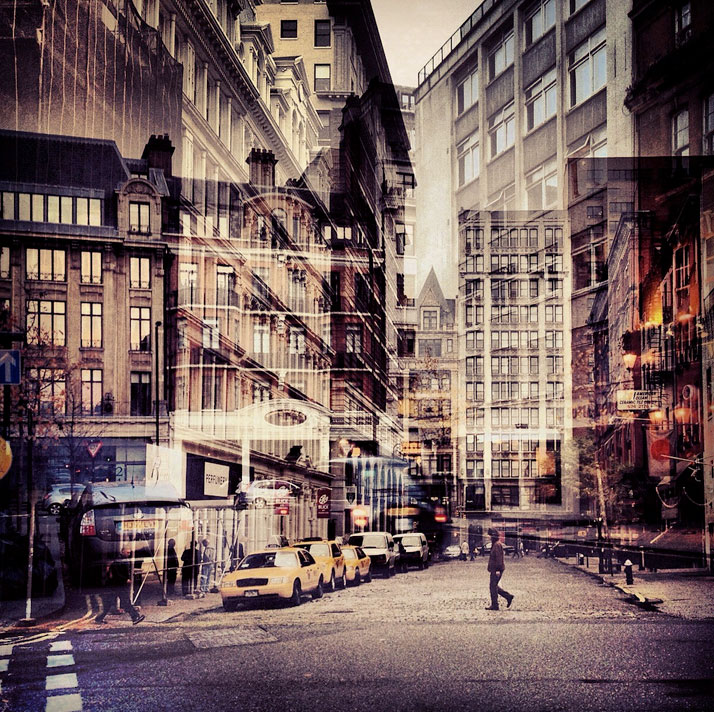 New York + London: A Collection Of Double Exposures By Daniella Zalcman 1