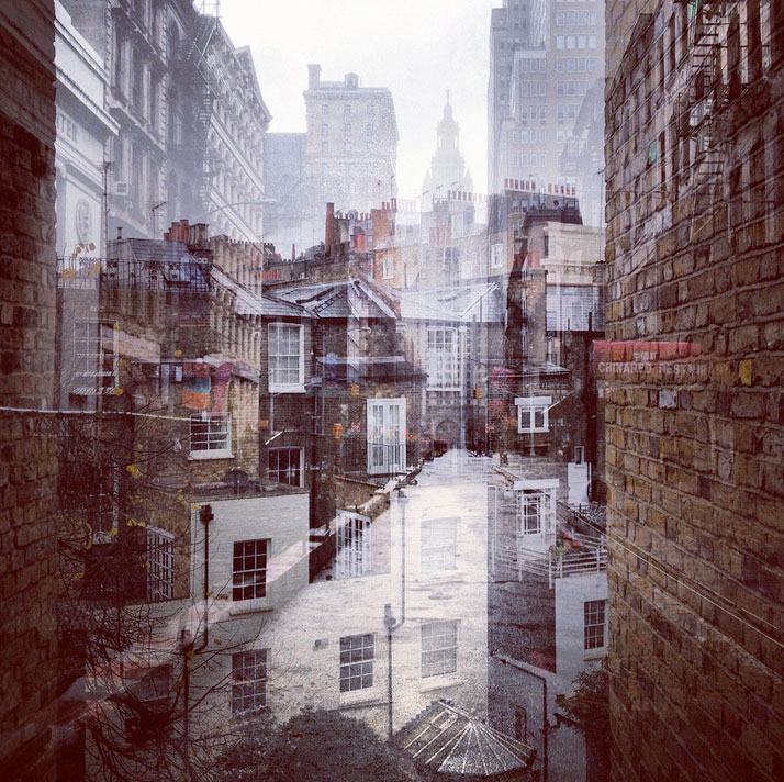 New York + London: A Collection Of Double Exposures By Daniella Zalcman 8