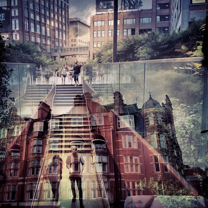 New York + London: A Collection Of Double Exposures By Daniella Zalcman 10