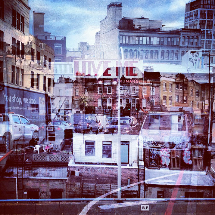 New York + London: A Collection Of Double Exposures By Daniella Zalcman 11