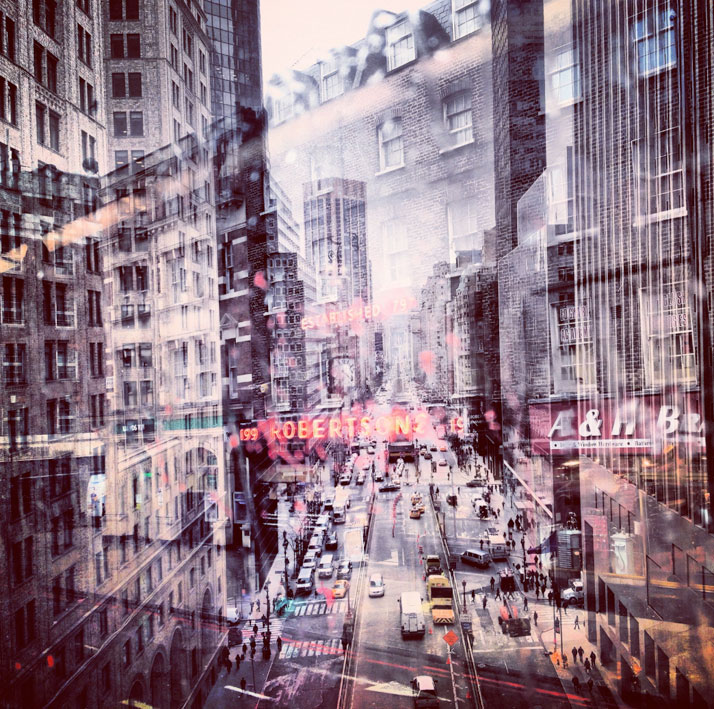 New York + London: A Collection Of Double Exposures By Daniella Zalcman 12