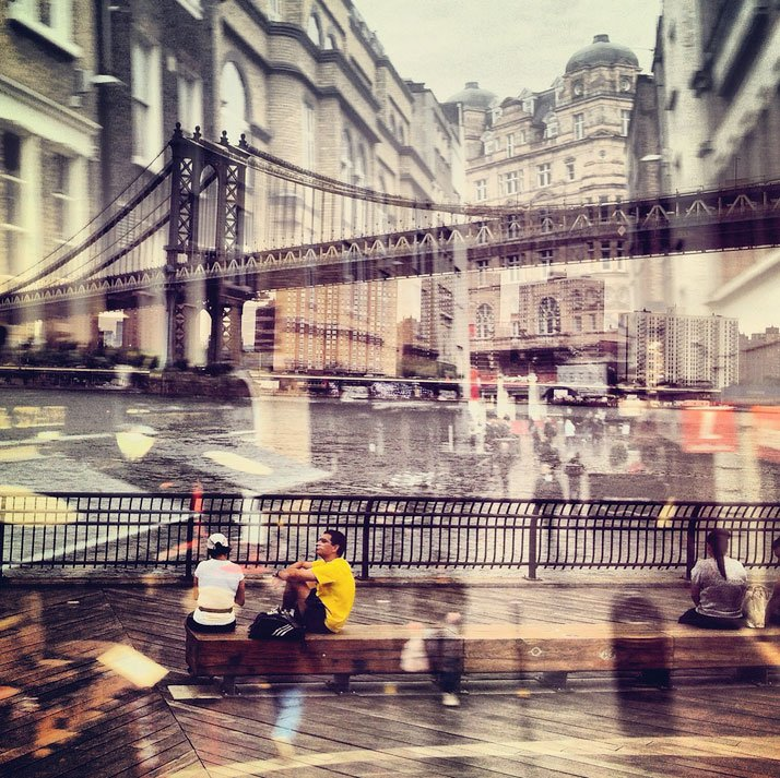 New York + London: A Collection Of Double Exposures By Daniella Zalcman 13