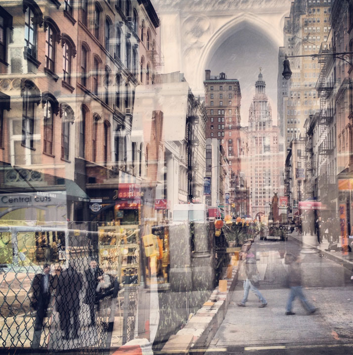 New York + London: A Collection Of Double Exposures By Daniella Zalcman 14